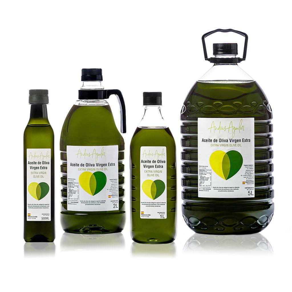 Fotografía de producto para marca de aceite de oliva