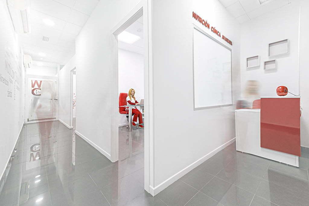 Fotografía corporativa para clínica de nutrición
